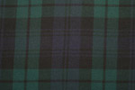Campbell Clan Tartan Pure 16oz wool woven in Great Britain